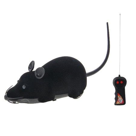 Electronic Fun Mini Mice Prank Toy with Remote Control(Black)](Fun Harmless Halloween Pranks)