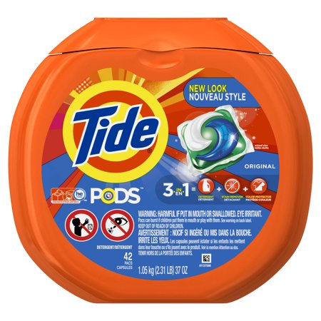 Tide Pods Original Scent He Turbo Laundry Detergent Pacs  42 Count