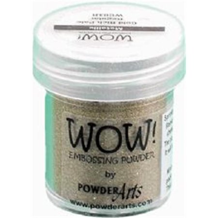 WOW! Embossing Powder Super Fine 15ml-Gold Rich Pale Super Fine Detail Embossing Powder