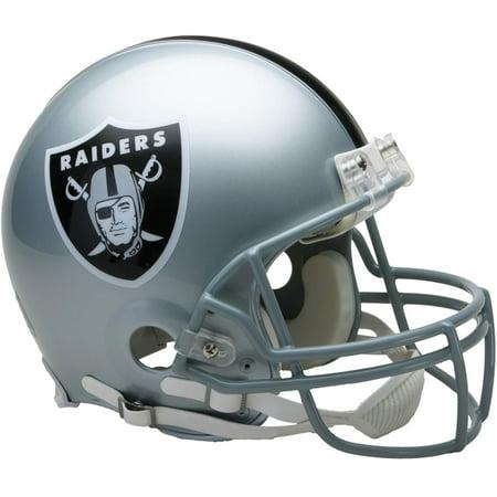 Riddell Oakland Raiders VSR4 Full-Size Authentic Football (Oakland Raiders Football Helmet)