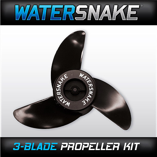 Watersnake 3-Bladed Trolling Motor Propeller Kit 12-V