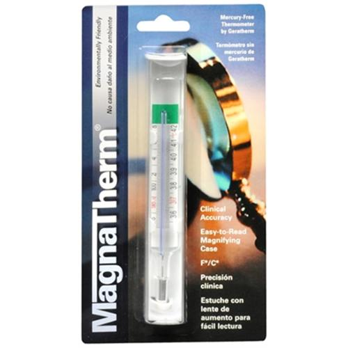 Magnatherm Geratherm Mercury Free Thermometer With Magnified, 1 Ea