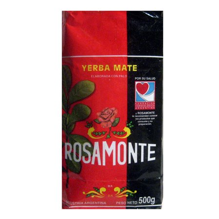 Yerba Mate Rosamonte x 500 g Argentina Green Leaf Tea Loose Herbal Bag 1.1 lb -