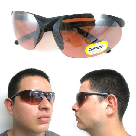 Driving Glasses Copper Lens Mens Womens UV Designer Sport Sunglasses Eyewear !