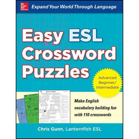 Easy ESL Crossword Puzzles (Halloween Games Esl)