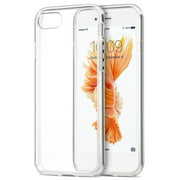 iPHONE 7/8 CLEAR CASE, NEW CRYSTAL CLEAR TRANSPARENT FLEX GEL TPU SKIN CASE COVER FOR APPLE iPHONE 7/8