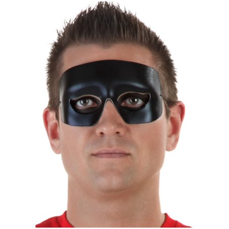 Hero and Villain Black Eye Mask (Heroes And Villains Halloween Party Ideas)