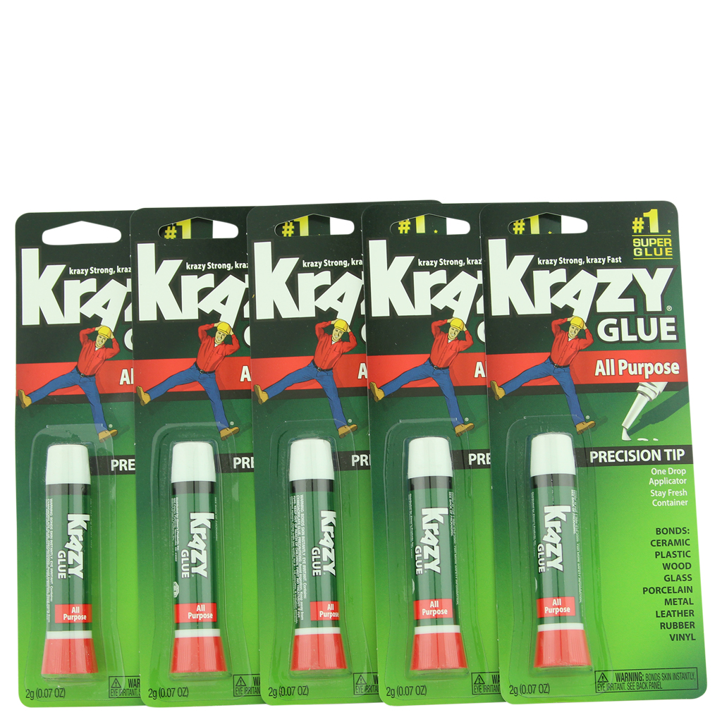 Krazy Glue Super Glue All Purpose Precision Tip 5 ct 0.07 oz