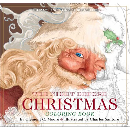Classic Edition: The Night Before Christmas Coloring Book (Paperback) ()