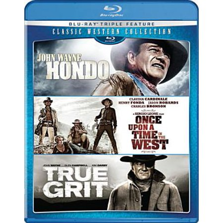 Classic Western Collection: Hondo / Once Upon A Time In The West / True Grit (Blu-ray) (Once Upon A Time In The West 1968)