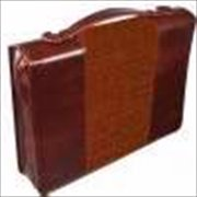 Christian Art Gifts 368356 Bi Cover Classic Luxleather Names Of Jesus Large Brown
