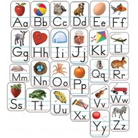 Alphabet: Photographic Shape Stickers (Other)
