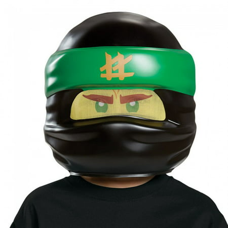 Child's LEGO® Ninjago Movie Lloyd Green Ninja Mask Costume Accessory (Smiley Movie Mask)
