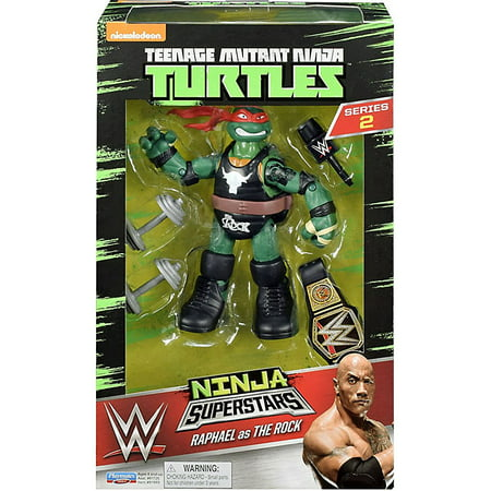 Ninja Super Stars: Raph as The Rock](Ninja Stars For Kids)