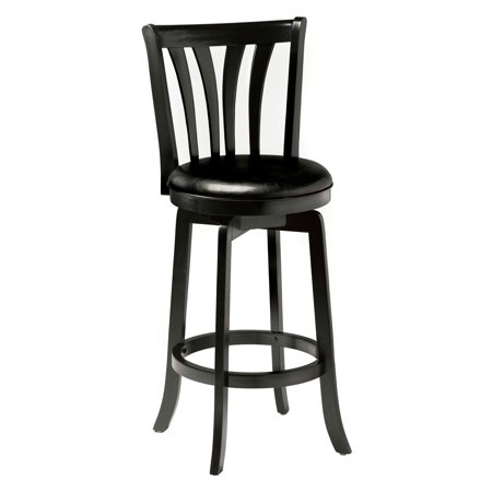 29.5u0022 Savana Swivel Bar Stool Black - Hillsdale Furniture