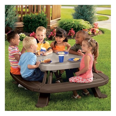 little tikes fold n store kids 39 picnic table set