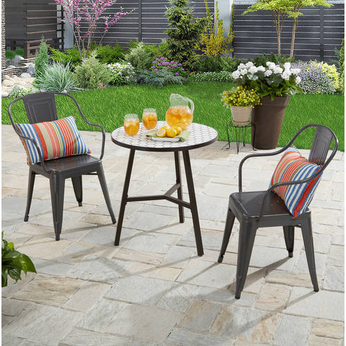garden furniture table and chairs outside chairs cheap patio furniture walmart com brown square