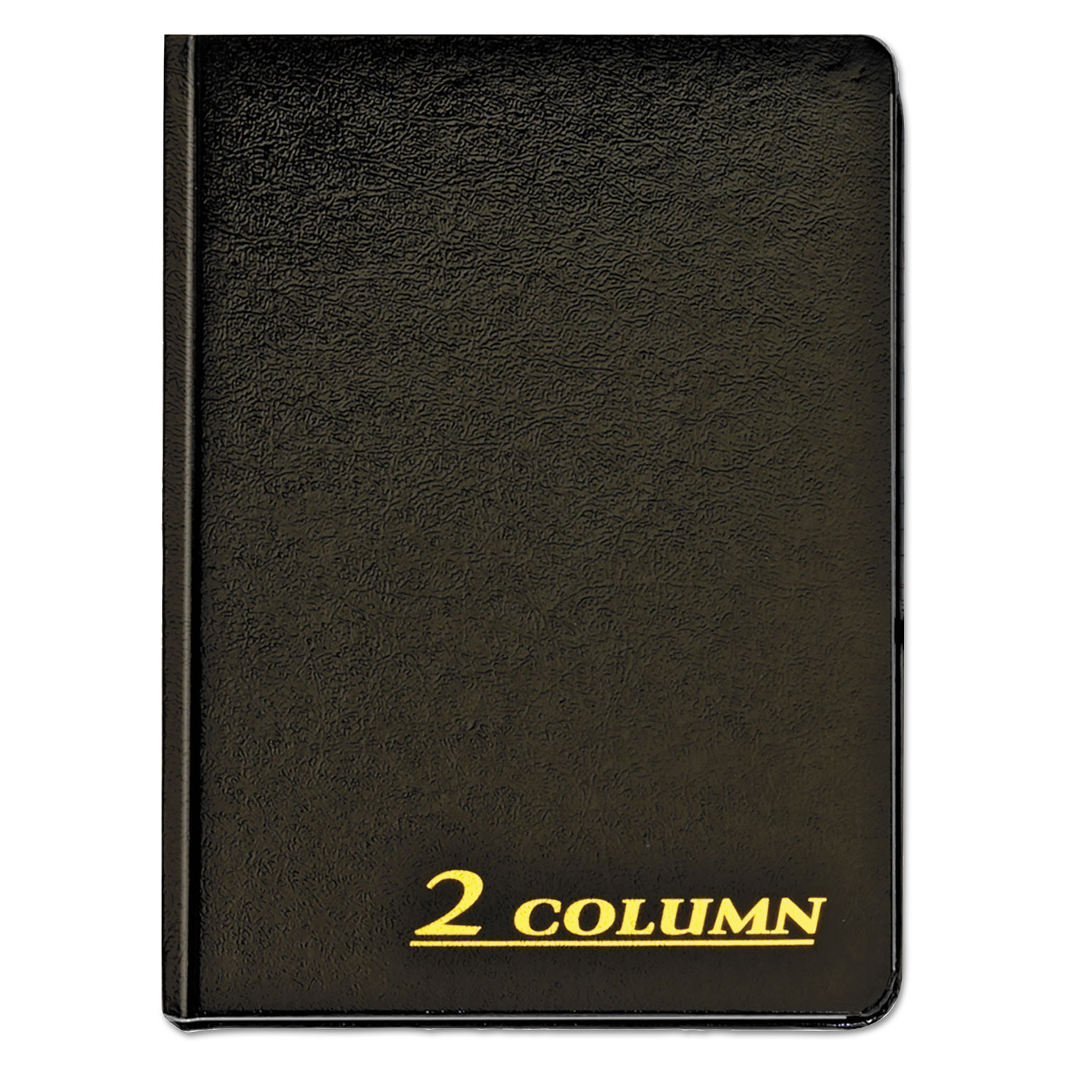 Account Book, 2 Column, Black Cover, 80 Pages, 7 x 9 1 4 by Cardinal Brands