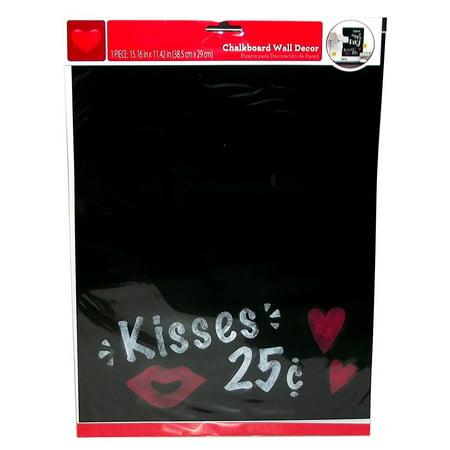 Kisses Chalkboard Wall Decor 15.16 x 11.42 Inches](Chalkboard Decor)