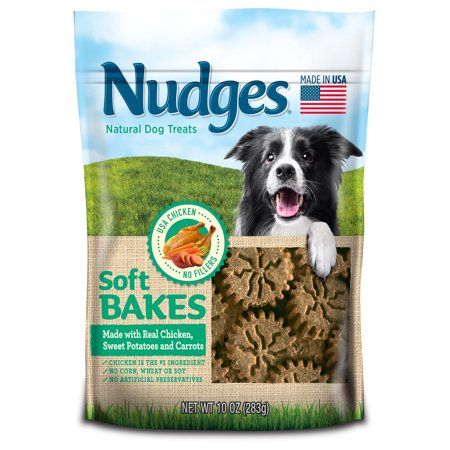 Nudges Soft Bakes with Chicken, Sweet Potatoes and Carrots Dog Treats, 10 Oz](Halloween Sweet Treats Easy)