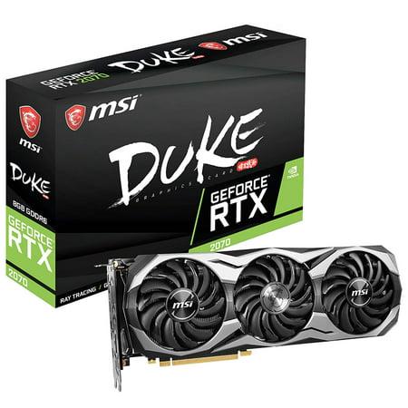 MSI DUKE GeForce RTX 2070 DUKE 8G OC 8GB Video Graphics