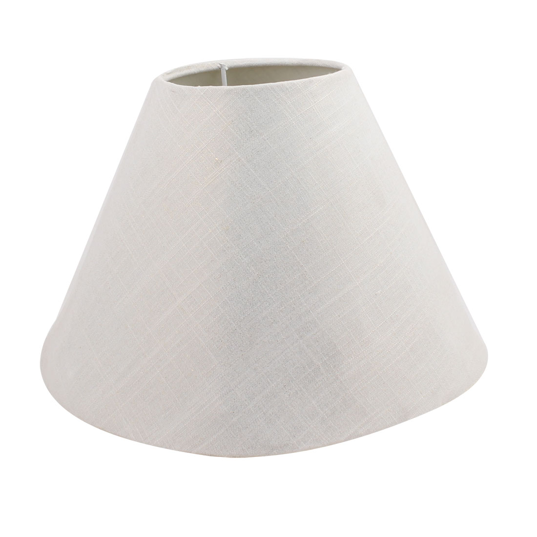 110mm x 260mm x 180mm Creamy-white Fabric Shell Lamp Shade for Reading Lamp - image 2 of 2