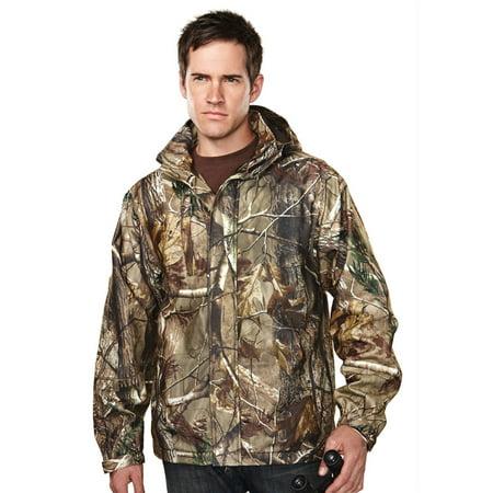 - Tri-Mountain Men's Waterproof Camo Shell Jacket