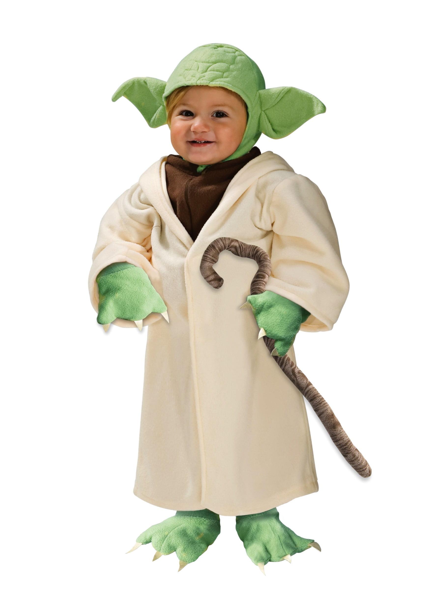 Rubie/'s Star Wars Yoda  Halloween Costume Infant Baby Boy Size 24 Months NEW
