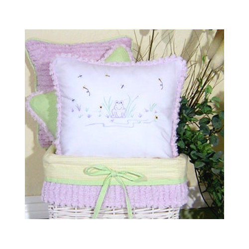 Brandee Danielle Froggy Decorator Throw Pillow
