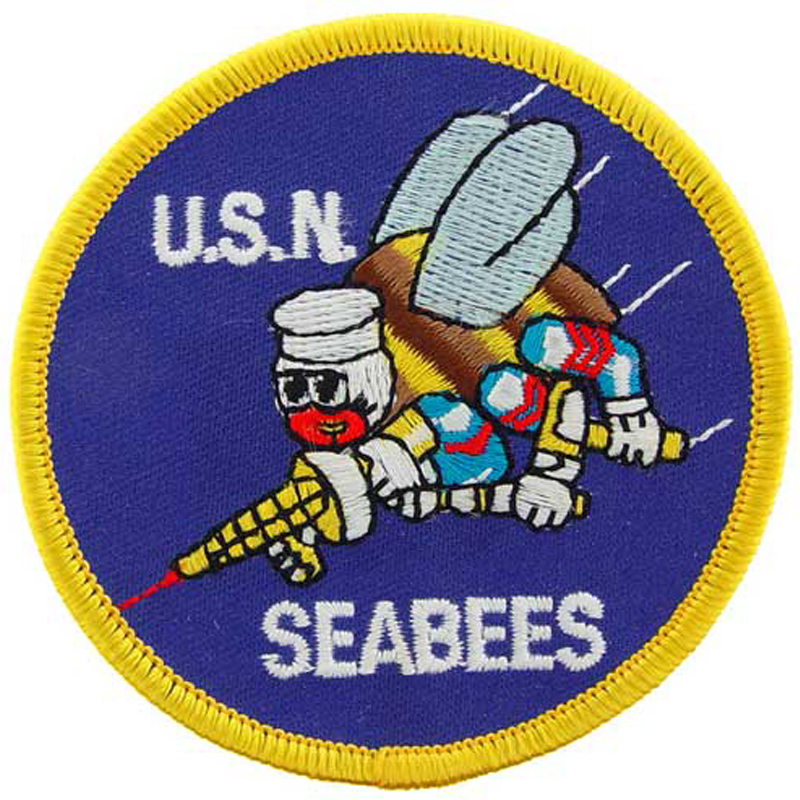 United States Navy Seabees Patch