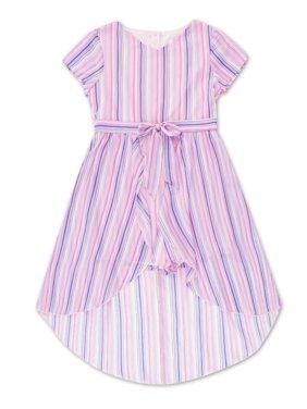 Wonder Nation Flutter Sleeve Walk-Thru Dress (Little Girls, Big Girls & Big Girls Plus)