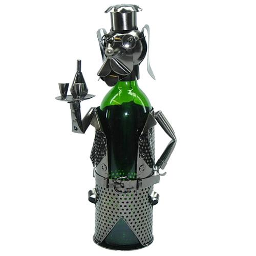 3starimex Wine Bottle Holder Dog Waiter Wine Caddy