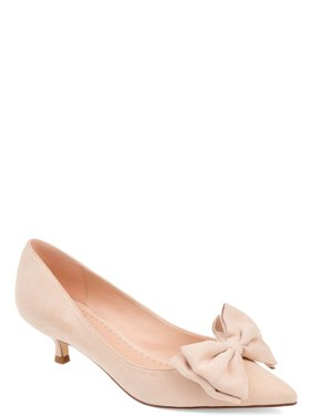 Brinley Co. Pointed Toe Bow Pump (Women's)