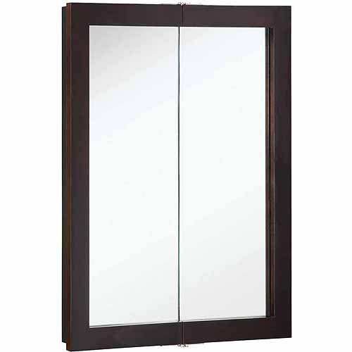 Click here to buy Design House 541334 Ventura Espresso Bi-View Medicine Cabinet Mirror with 2 Doors and... by Generic.