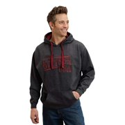 Stetson Western Sweatshirt Mens L/S Pullover Gray 11-097-0562-0735 GY