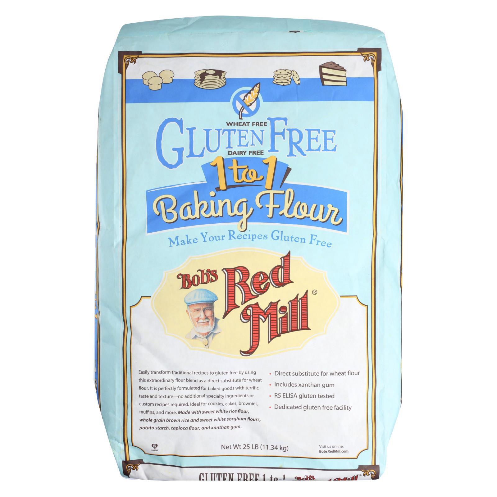 Bob's Red Mill - Gluten Free 1-to-1 Baking Flour - 25 lb