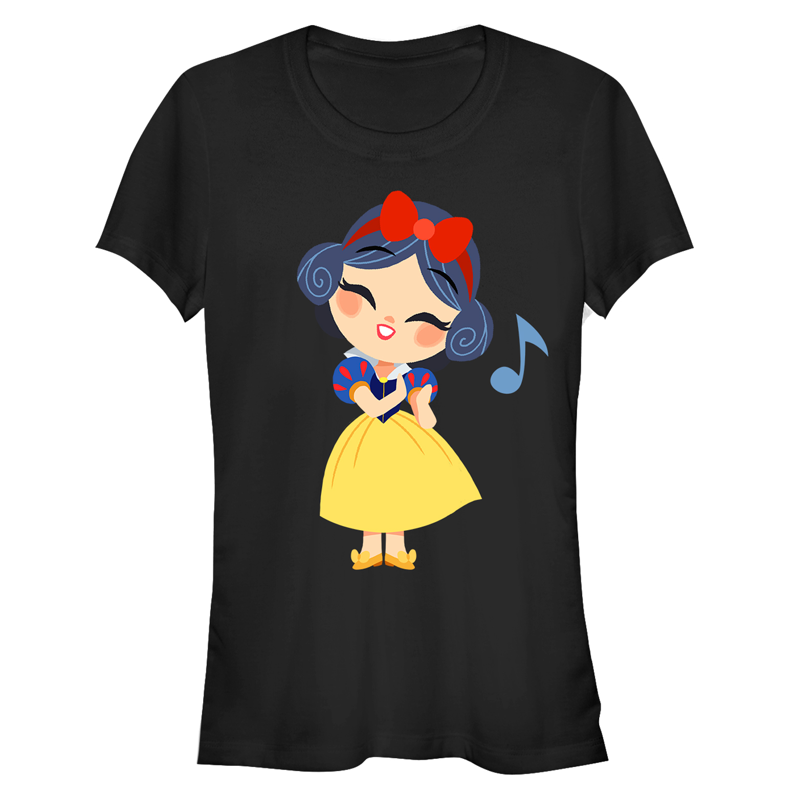 Snow White and the Seven Dwarves Juniors' Song T-Shirt