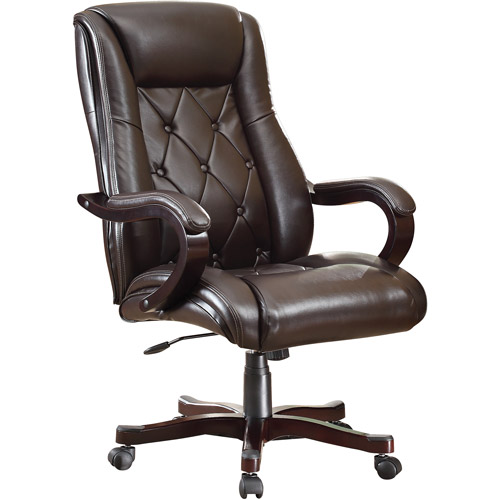 Chapman Executive Leather High-Back Office Chair