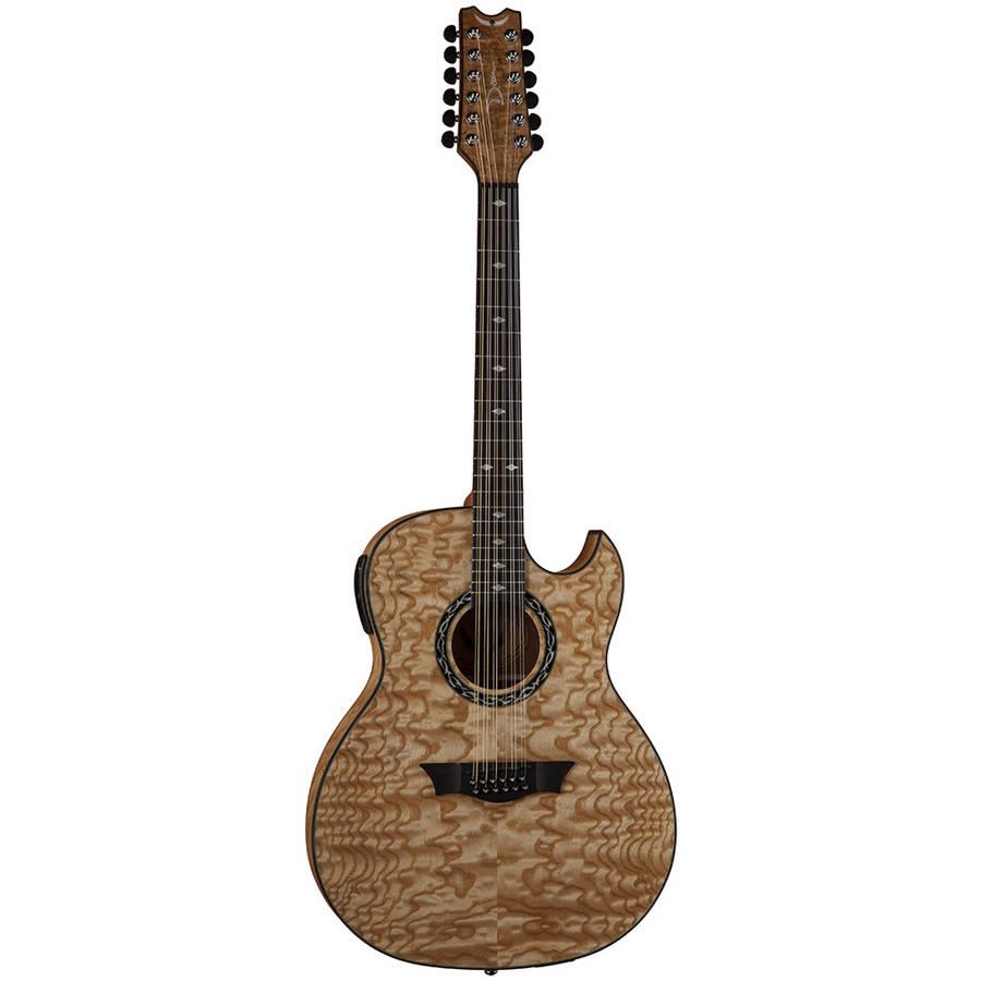 Dean Exhibition Quilt Ash 12 String Guitar w  Aphex GN by Dean