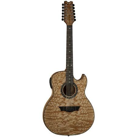 Dean Exhibition Quilt Ash 12 String Guitar W  Aphex Gn