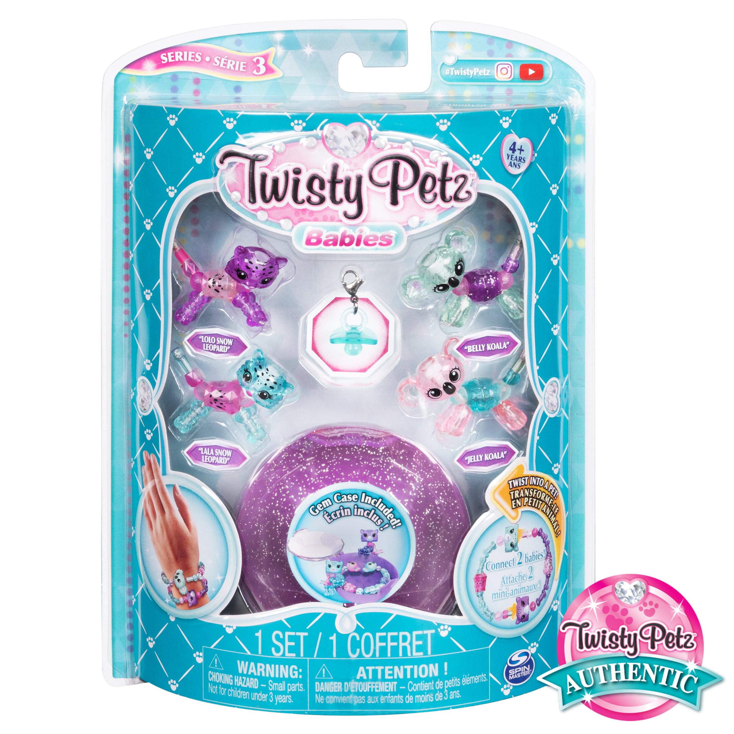 Sinuosa Petz Series 3 Bebês Kitty E Lontra Gêmeos collectibe Pulseira Conjunto