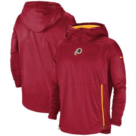Washington Redskins Nike Sideline Alpha Fly Rush Pullover Jacket - Burgundy Nike Wool Jacket