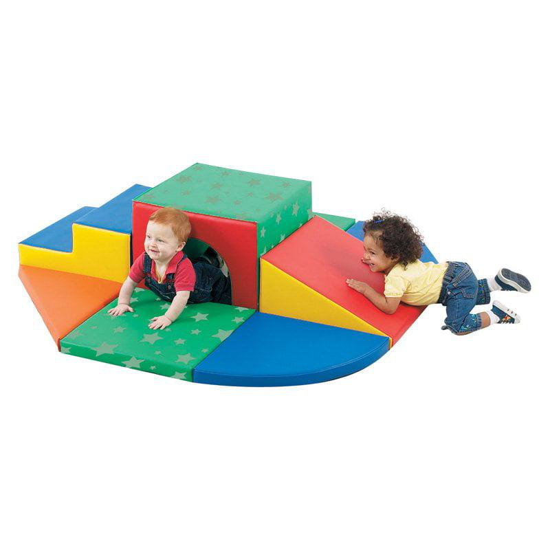 Children's Factory Soft Tunnel Set Climber