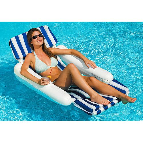 Sunchaser Padded Floating Lounger