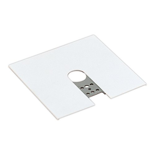 Click here to buy Floating Canopy Track Mounting Finish: Matte White.