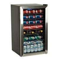 EdgeStar 103 Can 5 Bottle Beverage Cooler  Stainless Steel