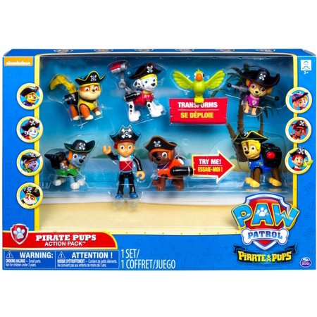- Paw Patrol Pirate Pups Action Pack Mini Figures