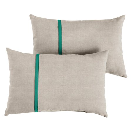 Mozaic Company Sunbrella Outdoor Lumbar Pillow - Set of 2 ()