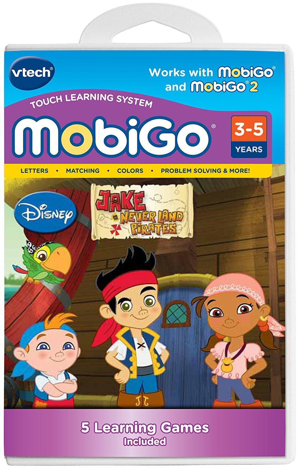MobiGo Software Cartridge Jake and the Never Land PiratesEarn gold doubloons for solving... by