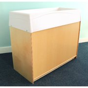 Whitney Brothers Changing Table with Pad and Basket